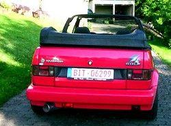 Golf III Cabrio 2.0(1E) Volkswagen фото