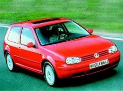 Volkswagen Golf IV 2.3 VR5 4motion (3dr) (150hp)  (1J1)  фото